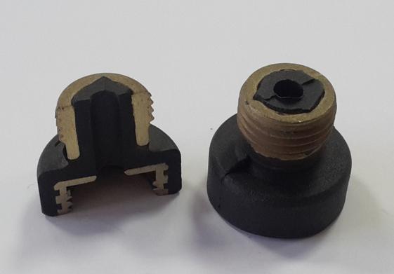 Esempio stampaggio articoli tecnici in gomma